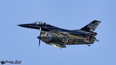 D U O  F L I G H T (Caspar Smit) Tags: f16 falcon viper fightingfalcon baf spitfire fa101 sl721 kleinebrogel ebbl aircraft fighter jet aviation airforce airplane airshow nikon d7000