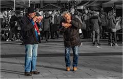 Good Grub (Fermat 48) Tags: salfordquays christmas markets manutd manchester united crystalpalace lowry plaza bridge eating hospitality food colourpoppin canon eos 7dmarkii ef24105mmf4lisusm