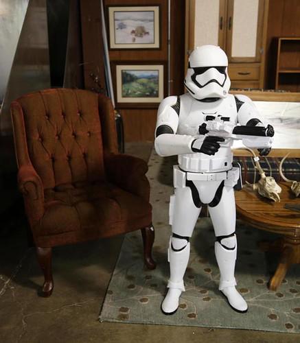 Star Wars life size Storm Trooper ($89.60)