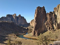 Crooked River at Smith Rock State Park (dinannee) Tags:
