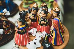 Handmade Guatemalan style nativity set (wuestenigel) Tags: craft guatemalan clay handmade style set nativity wear tragen people menschen festival adult erwachsene veil schleier woman frau noperson keineperson traditional traditionell outfit competition wettbewerb celebration feier group gruppe man mann daylight tageslicht music musik motley bunt portrait porträt parade doll puppe many viele