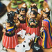 Handmade Guatemalan style nativity set