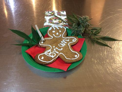 Cannabis Gingerbread Man - 2018