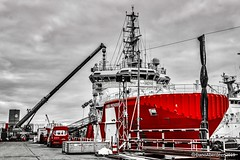 VOS Provider - Aberdeen Harbour Scotland - 10/01/2019 (DanoAberdeen) Tags: oilandgas oilrigs oilships supplyships dalesmarineservices water metal watercraft northeast vroon nikond750 telforddock vikingprovider drydock scotland standbysearchandrescue seasalt maritime mariners dalesmarine amateur gb uk psv abdn abz cargoships workboats seafarers aberdeenscotland aberdeen 2019 aberdeenharbour shipping ships ship tugboats offshore tug vosprovider danoaberdeen marineoperationscentre vroonoffshore candid geotagged vroonoffshoreservicesuk danophotography seascape boats atsea harbour grampian fairtradecity boat footdee fittie shipspotting shipspotters scotch pocraquay northeastscotland