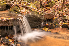 Along a Mountain Stream (Back Road Photography (Kevin W. Jerrell)) Tags: autumn streams whitebranch rosehillva leecountyvirginia nikond7200 backroadphotography slowshutter sigmalens polarizerfilter