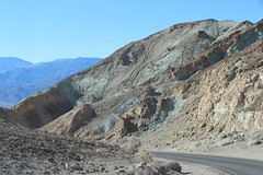 0211 Colorful mineral deposits on Artists Drive in Death Valley (_JFR_) Tags: camping hiking deathvalley deathvalleynationalpark artistsdrive