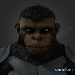 Cinematic 3D Character of Kung Fu Ape – sci-fi Cartoon feature film - USA, New jersey (GameYanStudio) Tags: 3d 3danimationstudio animation characte character modeling development film game gamedesign motioncapture movie pre production rendering riggingandanimationservices sculpting sculpture studio texture texturing vfxservices