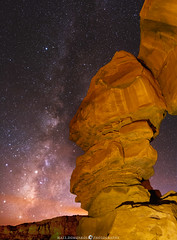 Pillar at Chaco (MTD Photos) Tags: chacocanyon milkyway nmsky newmexico astrophotography butte desert landscape lightpainting mattdomonkos nature sky space stargazing stars