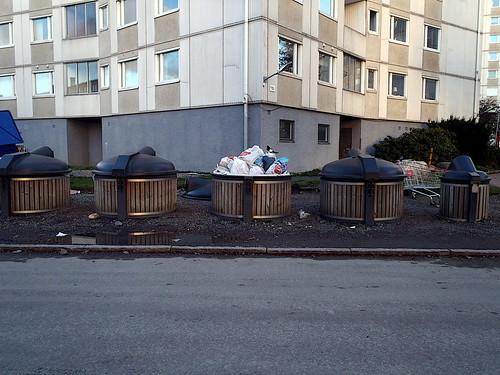 Munspelsgatan garbage chutes