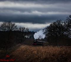 7802 Bradley Manor (LMSlad) Tags: severn valley railway 7802 bradley manor 460 gwr collett tunnel bewdley