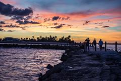 Ft Pierce Pier (David-Gómez) Tags: fort pierce pier sunset sea people landscape waterscape ocean fishing fun chillin nikond7200 nikkor 1855mm 13556g dx vr kit lens