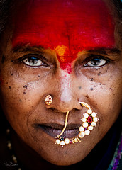 Fire Within (Vijay Britto Photography) Tags: 100strangers photoshop reedit nikon 85mm 50mm outdoorportraits naturallight indian ethnic tradition eyes india