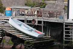Quidi Vidi Boat Launch (peterkelly) Tags: digital canon 6d northamerica canada newfoundlandlabrador stjohns quidividi harbour harbor ramp boat launch driedcod ladder