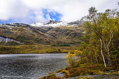 Winter is coming closer (Petra Schneider photography) Tags: lake norge norway nordnorwegen northernnorway nordland autumn automne herbst laksådalsvatnet