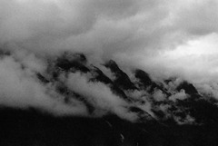 accrocs (asketoner) Tags: clouds mountains dawn high sky landscape alps france savoie darkness lightness