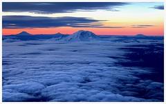 5 Big (jcurtis4082) Tags: iflyalaska alaskaair camera sunrise consulab adams hood jefferson rainier st helens