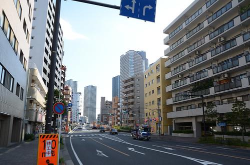 At the North of Musashi-kosugi Station in 2017 September