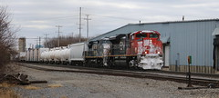 CN 8962, GECX 7309, Blair, Neenah, 26 Nov 18 (kkaf) Tags: neenah blair leaser gecx cn c408w sd70m2