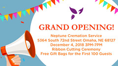 Neptune Cremation Service - Omaha, NE Grand Opening & Open House