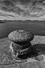 Rusty Moorings (rdspalm) Tags: donegal pier bollard nikon landscape irishlandscapes