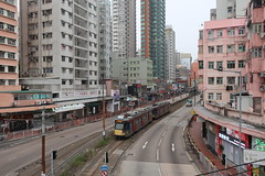 Light Rail, Yuen Long, Hong Kong (Ryo.T) Tags: 香港 hongkong 新界 xinjie newterritories 元朗 yuenlong ユンロン