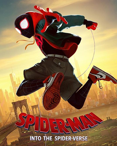 Miles Morales and the New Spider-Man Movie Deliver 👍👍 (352/365) #dailyphoto #365cm #spiderman #milesmorales #movie #awesome