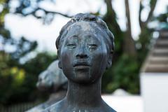 Facing It All D7C_8342 (iloleo) Tags: statue art bokeh costarica sanjosé gallery nikon d750 face