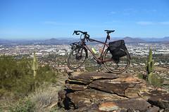 AWOL Over Phoenix (tomBW) Tags: sony rx100iii rx100m3 specialized awol phoenix southmountain arizona bicycle adventure