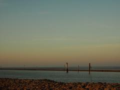 Abendrot (Pico 69) Tags: nordsee bensersiel idylle abendhimmel strand küste natur landschaft pico69