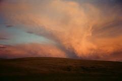 sunset north of Joseph (Tim Roth) Tags: 35mm film oregon nature landscape canon ae1