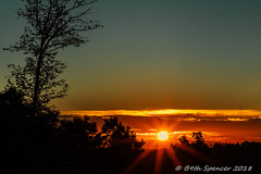 Tucker County Sunset (b9thspencer) Tags: winter fall2018 winter20182019 sunset canonsettlement mountainview