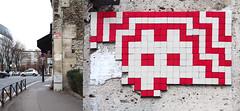Space invader [Paris 16e] (biphop) Tags: europe france paris streetart space invader spaceinvader mur wall installation mosaic mosaique 75016 pa761