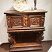 1580 walnut carved cabinet