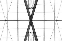 XXX tent roof (MAICN) Tags: lines architektur building munich dach linien sw highkey münchen bw airport blackwhite monochrome geometrisch gebäude schwarzweis roof architecture flughafen einfarbig 2019 geometry mono