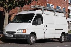 P202 VUF (Nivek.Old.Gold) Tags: 1996 ford transit 100 lwb van 2496cc diesel