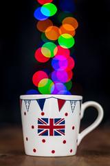 a taste of home (englishgolfer) Tags: tea mug union jack british bokeh colours nikon d7500 50mm 18