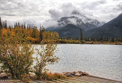 Boat Ramp at Ghost Lake with the Canadian Rockies in the background (PhotosToArtByMike) Tags: ghostlake alberta boatramp rockymountains canada1a bowriver cochrane canadianrockies calgary albertacanada mountain mountains