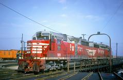 CB&Q GP35 989 (Chuck Zeiler48Q) Tags: cbq gp35 989 burlington railroad emd locomotive clyde train chuckzeiler chz turntable mow