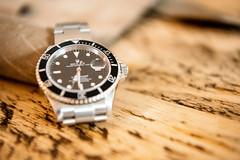 Time ... (davidheath01) Tags: watch rolex wood timber leather nikon d850 nikond850 dslr dop depthoffeild