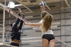 2018 Women's Volleyball, Sierra vs American River, October 19, 2018. (davidmoore326) Tags: volleyball womensvolleyball game match team photo photography image dslr juco community college athlete sportsphotography athletic sport california sierracollege sierra american river arc sacramento unitedstatesofamerica