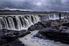 Selfoss (Wim van de Meerendonk, loving nature) Tags: waterfall waterfalls iceland clouds falls landscape nature outdoors outdoor panorama rock rocks river sony sky scenic wimvandem water selfoss golddragon astoundingimage