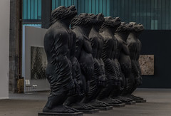 Gorillaz (michael_hamburg69) Tags: schleswigholstein büdelsdorf carlshütte kunst art nordart 2018 artist künstler liuruowang originalsin affe gorilla gorillaz monochrome erbsünde