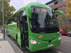 Irizar i6 Mercedes-Benz Nº3984 Alsa (SergioDesi) Tags: autobus irizar i6 mercedesbenz empresa alsa sanlorenzodeelescorial madrid crtm