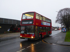 GAL PVL284 - PJ02RCU - ERITH ROAD BEXLEYHEATH - WED 5TH DEC 2018 (Bexleybus) Tags: goahead go ahead london central pvl284 pj02rcu volvo b7 plaxton president bexleyheath kent da7 erith road bx bus garage depot tfl route 89