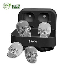 Hilarious 3 D Skull Silicone Ice Cube Maker (mywowstuff) Tags: gifts gadgets cool family friends funny shopping men women kids home