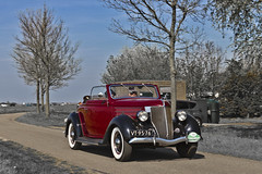 Ford V8 Cabriolet 1936 (8198) (Le Photiste) Tags: clay fordmotorcompanydearbornmichiganusa fordv8cabriolet cf 1936 ford68v8seriescabriolet oddvehicle oddtransport rarevehicle redmania simplyred rondjegaasterlandthenetherlands fryslânthenetherlands thenetherlands wijckelfryslân vt9576 aphotographersview afeastformyeyes autofocus artisticimpressions alltypesoftransport anticando blinkagain beautifulcapture bestpeople'schoice bloodsweatandgear gearheads creativeimpuls cazadoresdeimágenes carscarscars canonflickraward digifotopro damncoolphotographers digitalcreations django'smaster friendsforever finegold fairplay fandevoitures greatphotographers groupecharlie peacetookovermyheart hairygitselite ineffable infinitexposure iqimagequality interesting inmyeyes lovelyflickr livingwithmultiplesclerosisms myfriendspictures mastersofcreativephotography niceasitgets photographers prophoto photographicworld planetearthbackintheday planetearthtransport photomix soe simplysuperb slowride showcaseimages simplythebest thepitstopshop thebestshot themachines transportofallkinds theredgroup thelooklevel1red vividstriking wow wheelsanythingthatrolls yourbestoftoday simplybecause