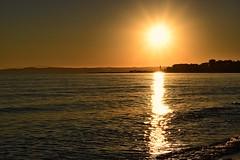 Atardecer sin filtros (msamrodriguez) Tags: sunset atardecer estepona costadelsol mar invierno winter sun sol beach playa sinfiltros enero agua water