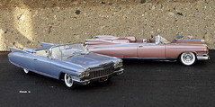 1959 & 1960 Cadillac Eldorado Biarritz Convertibles (JCarnutz) Tags: 124scale diecast danburymint 1959 1960 cadillac eldorado biarritz