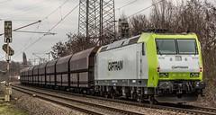 32_2019_01_16_Gelsenkirchen_Bismarck_6187_011_CTD_CAPTRAIN_mit_Coil-_und_Kohlezug_und_6185_501_CDT ➡️ Herne_Abzw_Crange (ruhrpott.sprinter) Tags: ruhrpott sprinter deutschland germany allmangne nrw ruhrgebiet gelsenkirchen lokomotive locomotives eisenbahn railroad rail zug train reisezug passenger güter cargo freight fret bismarck bottropsüd ctd captrain db hctor hhpi 0632 1266 1232 1261 6152 6185 6187 6241 class66 vtgch rb42 hochspannungsmast kraftwerk herne dorsten dortmund logo natur outdoor graffiti