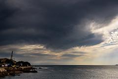 怪しい空 #2ー The mystic sky #2 (kurumaebi) Tags: yamaguchi 秋穂 山口市 nikon d750 nature landscape 雲 cloud autumn 秋 sky 空 sea